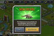 New Ankylosaur