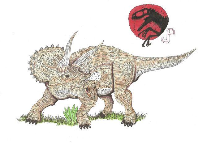 File:Jp triceratops horridus by hellraptor-d5zpaoe.jpg