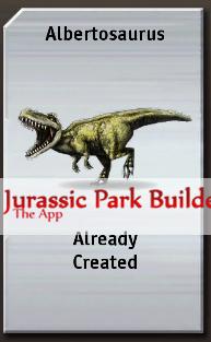 File:Jurassic-Park-Builder-Albertosaurus-Dinosaur.png
