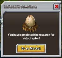 JPB Velociraptor egg