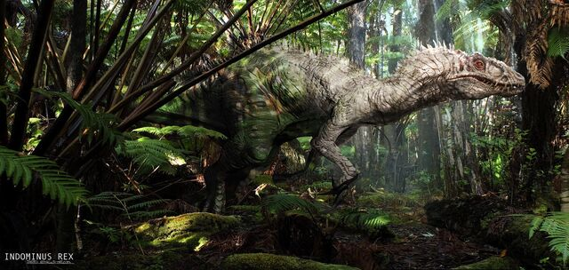 File:JurassicWorld IndominusRex Albino Jungle.jpg
