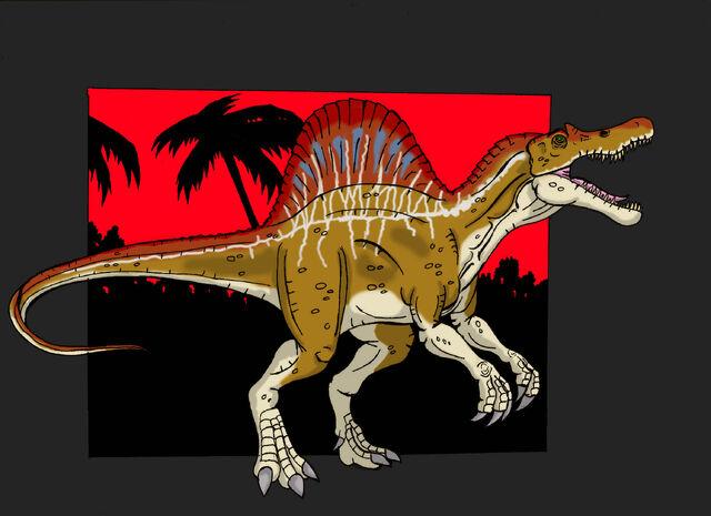 File:Spinosaurus Fanat by Hellraptor.jpg