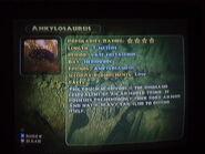 Ankylosaurus info