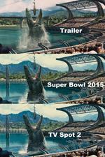 Mosasaur bite comparison