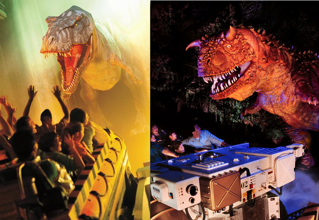 File:Jurassic park river adventure VS disney dinosaur.png