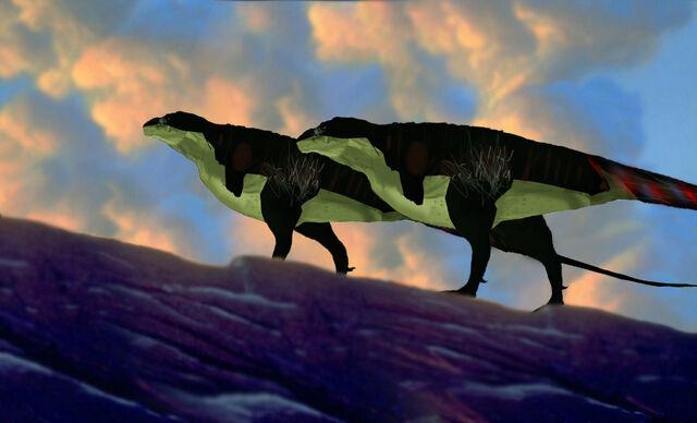 File:Tyrannosaurus profile newest.jpg