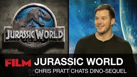 Chris Pratt talks Jurassic World