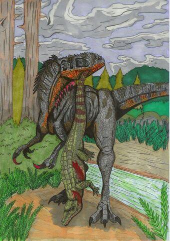File:Australovenator Early Cretaceous.jpg