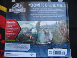 JW Where Dinosaurs Come To Life back cover