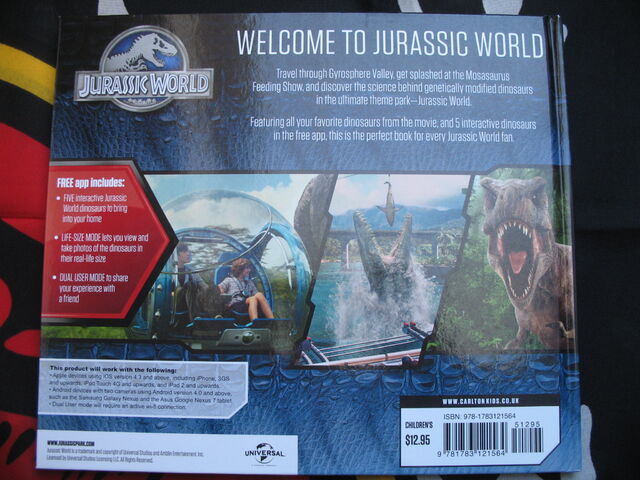 File:JW Where Dinosaurs Come To Life back cover.jpg