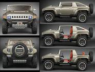 (Real) Hummer, model -HX-, concept