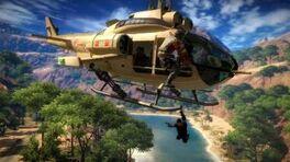 UH-10 Chippewa hijacking at the Rajang river
