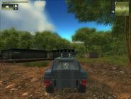 San Esperito Military Harland DTWV-2 Rocket Battery Back