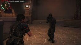 Just Cause 2 Panauan Secret Serviceman with Machine Gun