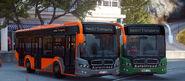 Citispeed Eco 75 (orange and green)