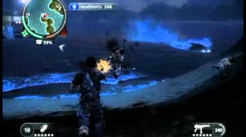 Just Cause 2 - Teluk Putih - civilian village