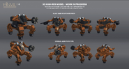 JC3 Mech Land Assault mech models