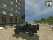 Wallys GP, Guerrilla version, patrol, side view.