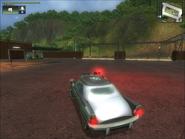 Vaultier Sedan Patrol Compact Military Rear