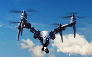 Drone with gun clean
