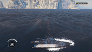 The Setup (JC3) - unmodded nameless boat side