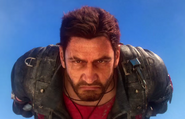 JC3 Rico Rodriguez (face close-up)