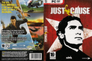Just Cause PC version box cover