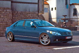 JC3 Autostradd D90 Blue Sedan