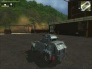 San Esperito Military Harland DTWV-2 AA Gun Rear
