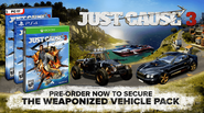 JC3 weaponized vehicle pack