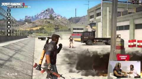 JC3 interview about the rebellion, backstory and gameplay elements