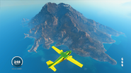 JC3 volcano island (view from south)