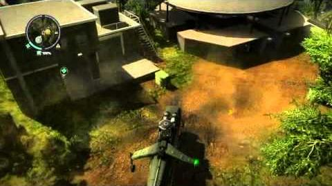 Just Cause 2 fun with cable cars