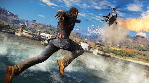 Just Cause 3 wingsuit race