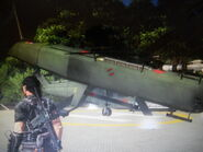 H-62 Quapaw crash landing