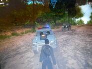 San Esperito Police Department Huerta Mesa driverless