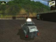 San Esperito Military Harland DTWV-2 AA Gun Muzzle Flash Glitch