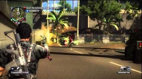 Just Cause 2 - Stronghold Takeover - Oil for Blood