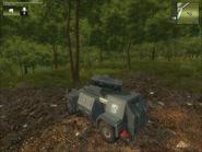 Military Rocket Battery Rear