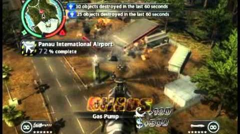 Just Cause 2 - Panau International Airport - military airport