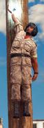 Medici Military Tank pilot