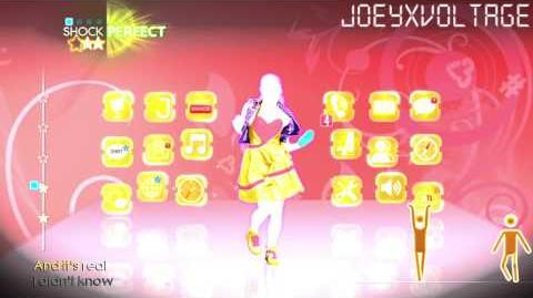 "Just Dance 4 ""Call Me Maybe(Alternate)"" 5 Stars"
