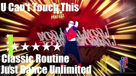 """U Can't Touch This"" - Just Dance Unlimited - Classic Routine - 5* Stars"