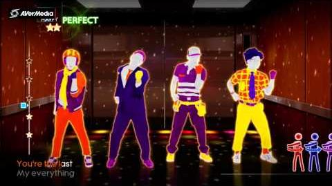 Just Dance 4 You're the First, the Last, My Everything, Barry White (Dance creew) 5*