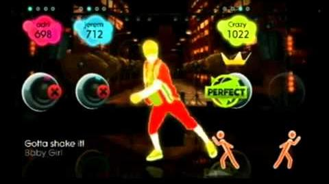 2 per wii Reggaeton - Baby Girl just dance