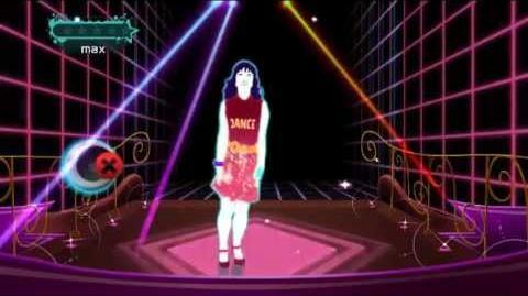 """(ジャストダンス2) JUST DANCE WII 2 Cutie Mommy """"Mickey Mouse March (Eurobeat)"""""""
