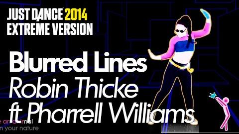 Just Dance 2014 Blurred Lines (Extreme)