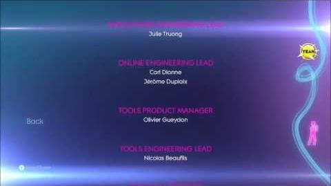 Just Dance 3 Credits