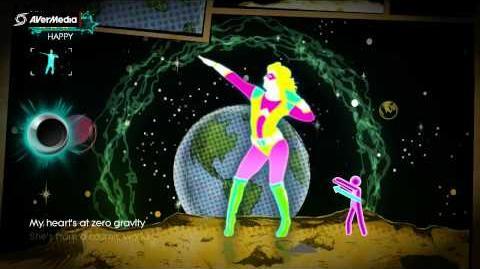 Just Dance 3 Cosmic Girl, Jamiroquai (Solo)-(DLC) 5*