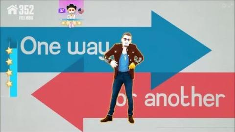 One Way Or Another (Teenage Kicks) - One Direction Just Dance Now